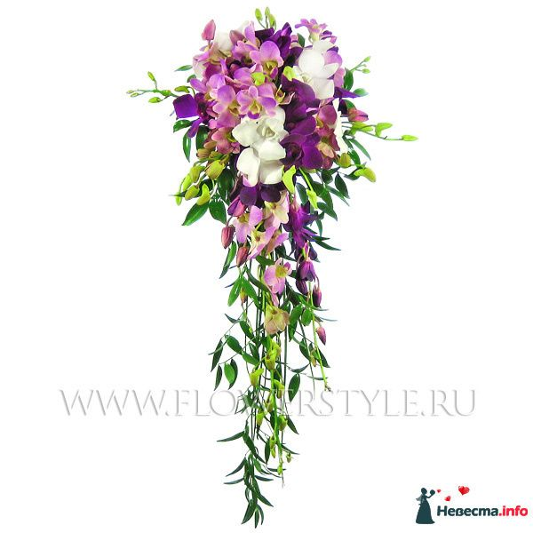 Орхидеи_длинный каскад (50 см)