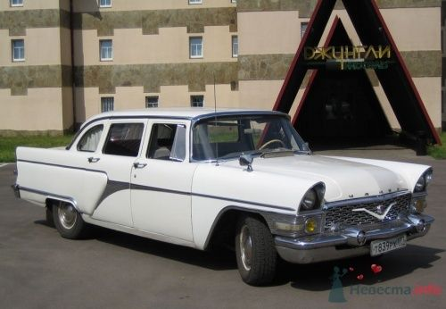 """Чайка ГАЗ-13 1977 г. белый - фото 207 """"Ника"""" - свадебные лимузины и авто"""