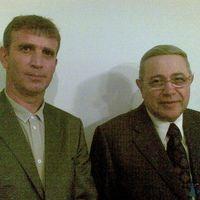 На юбилее писателя-сатирика Г.Терикова