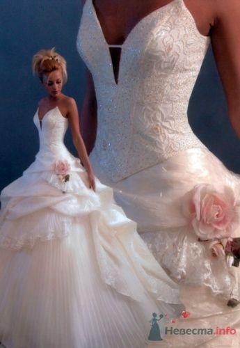 Свадебное платье Оксаны Мухи (Мадонна) - фото 10082 Теша