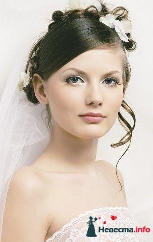 Фото 107248 в коллекции Мои фотографии - Хабарова Марина - прическа и макияж на свадьбу