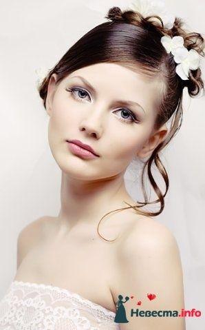Фото 107261 в коллекции Мои фотографии - Хабарова Марина - прическа и макияж на свадьбу