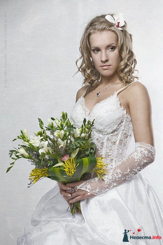 Фото 108037 в коллекции Мои фотографии - Хабарова Марина - прическа и макияж на свадьбу