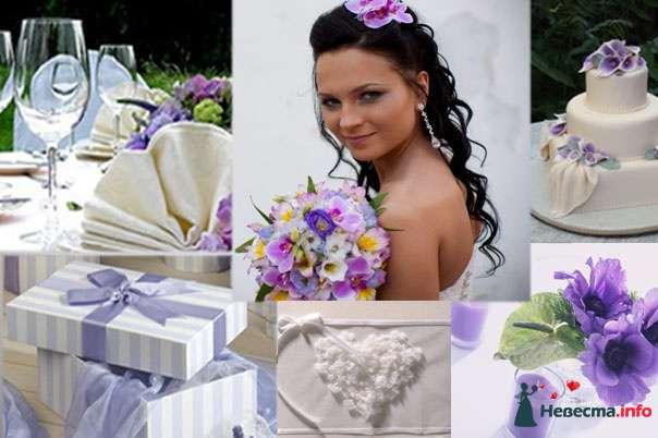 Фото 110012 в коллекции Мои фотографии - Хабарова Марина - прическа и макияж на свадьбу