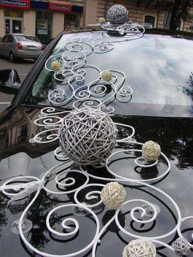 Свадебное украшение машин  мк
