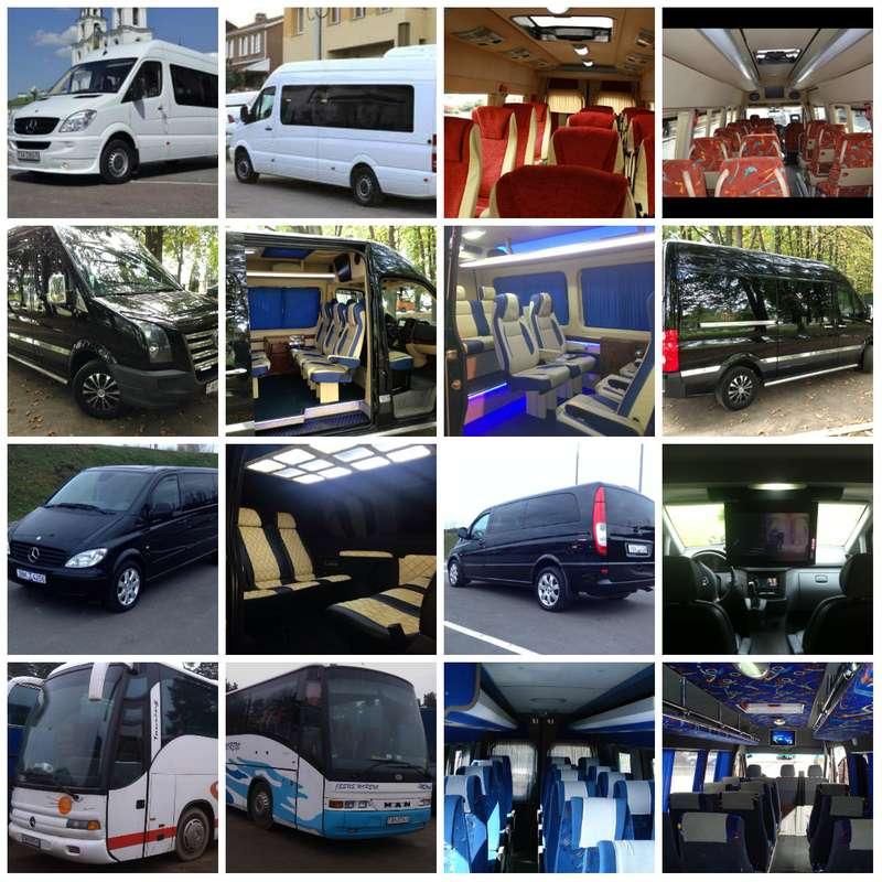 микроавтобусы в аренду - фото 1769621 Компания AvtoLimo - аренда авто