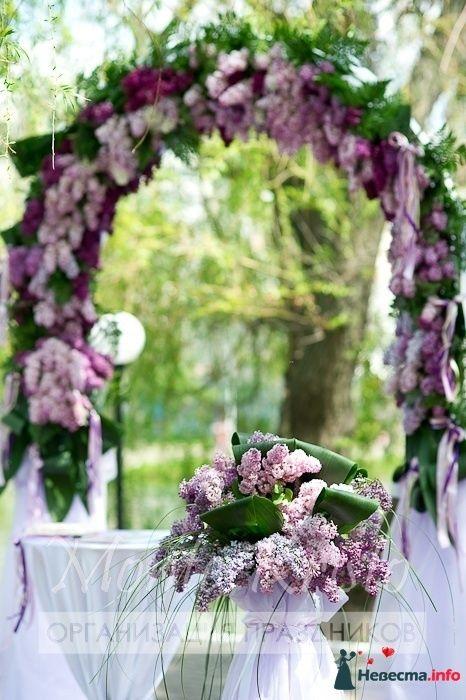 арка из цветов - фото 108013 Monte Kristo