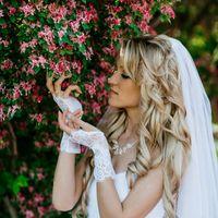 Наталья в свадебном платье Антонелла