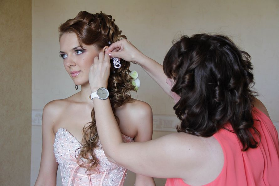 Классический свадебный макияж - фото 2159610 Визажист Маркова Юлия