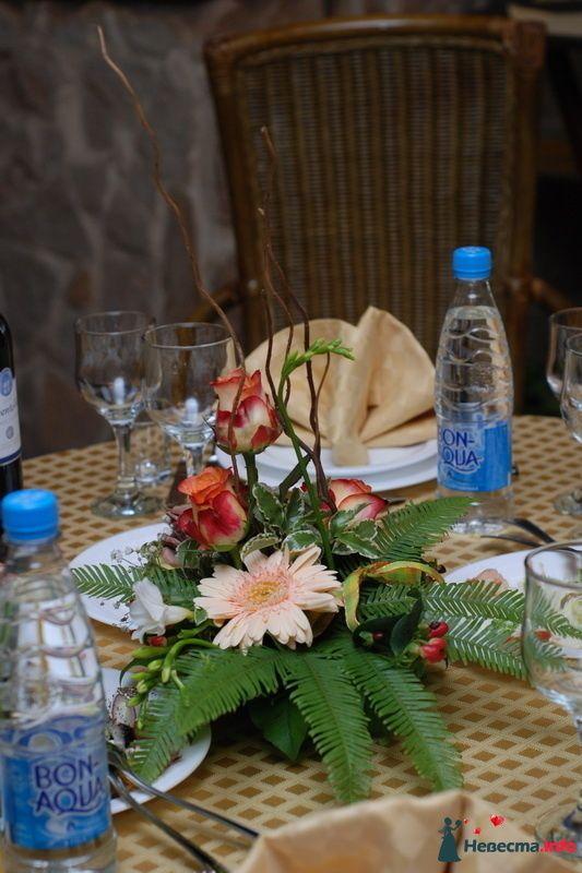 """Композиция на стол - фото 112029 """"Цветочный бутик"""" - студия флористов"""