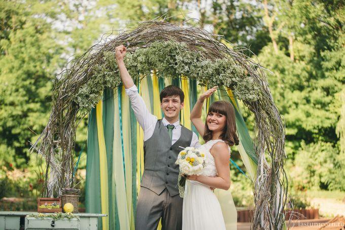 свадьба в салатовом стиле фото