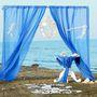 Оформление в синем. Морская тема.