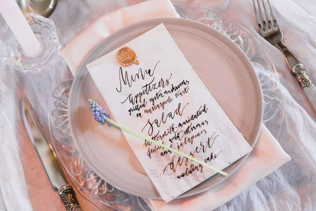 Лучше меню на свадьбу