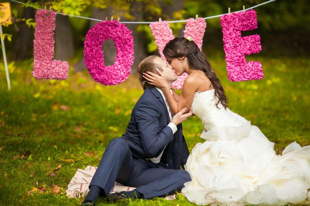 идеи оформление свадебной фотосессии