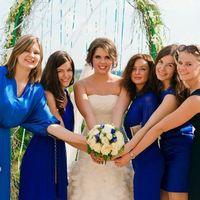 Анастасия и подруги невесты