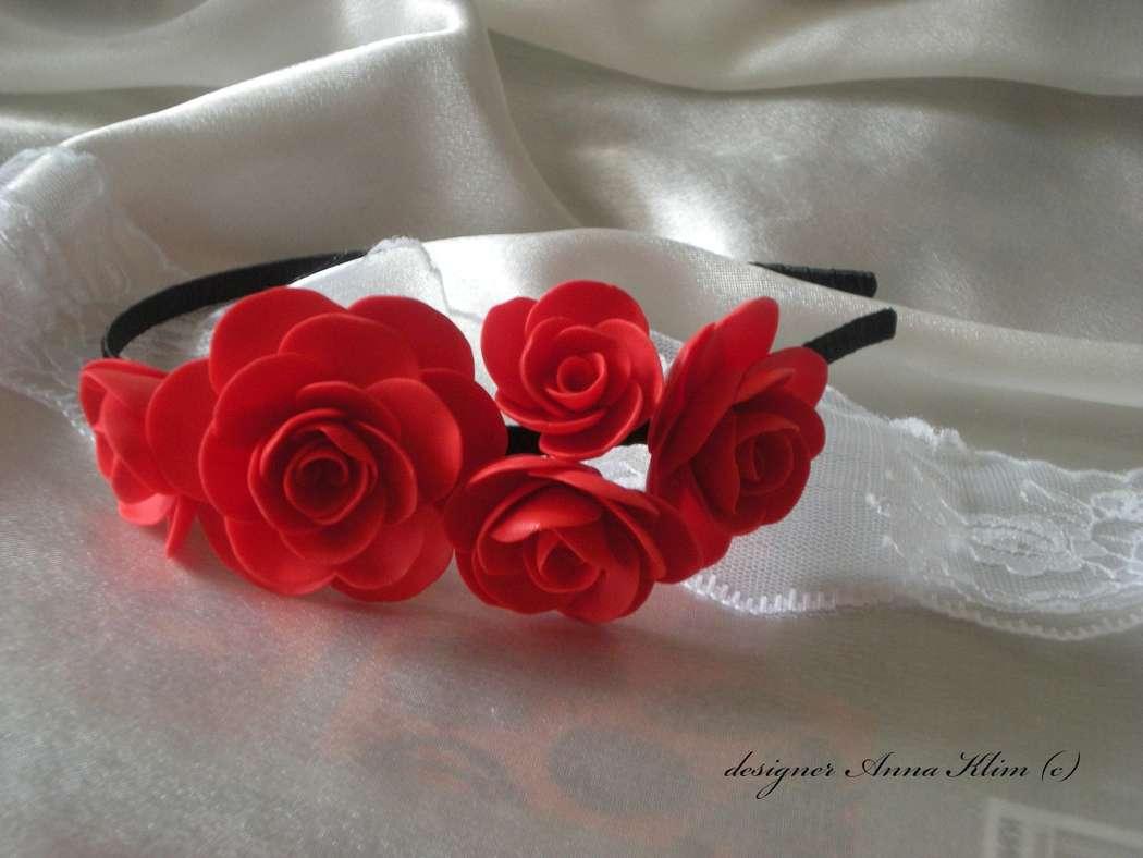 Обруч из роз