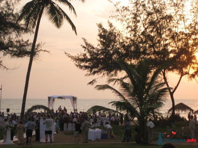 Свадебная церемония в Гоа (Индия), отель Intercontinental
