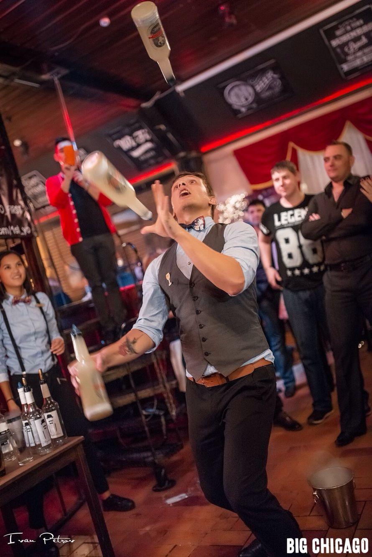 Фото 12274612 в коллекции Портфолио - MegaBarShow - бармен шоу