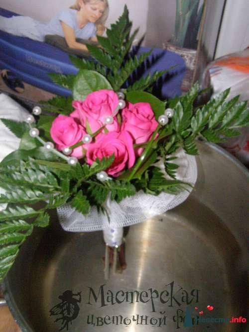 букет-дублёр - фото 121619 Мастерская цветочной феи - цветы