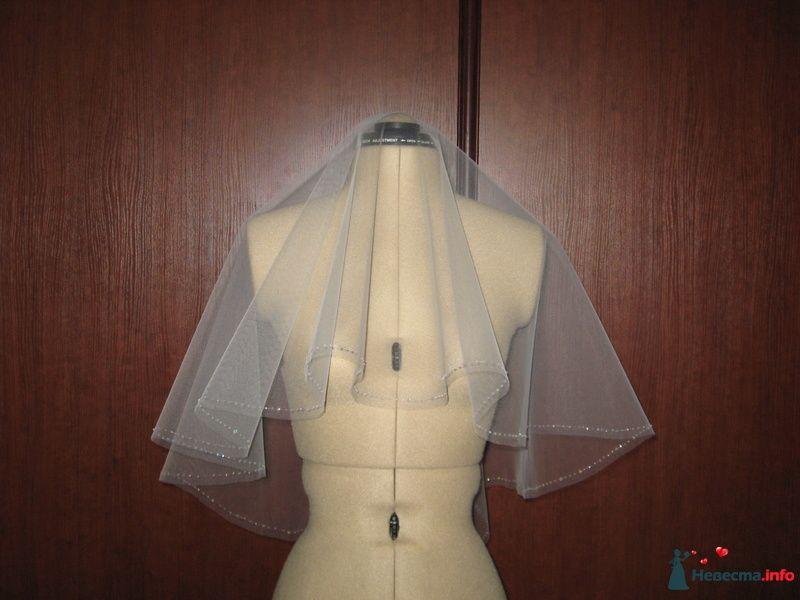 короткая фата - фото 118104 Sunshine - аксессуары для невесты