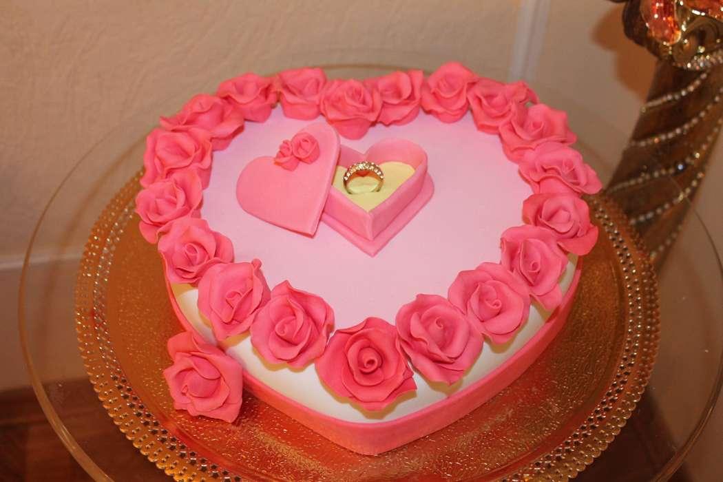 торт - фото 2503145 Иннэсса - свадебные торты из мастики