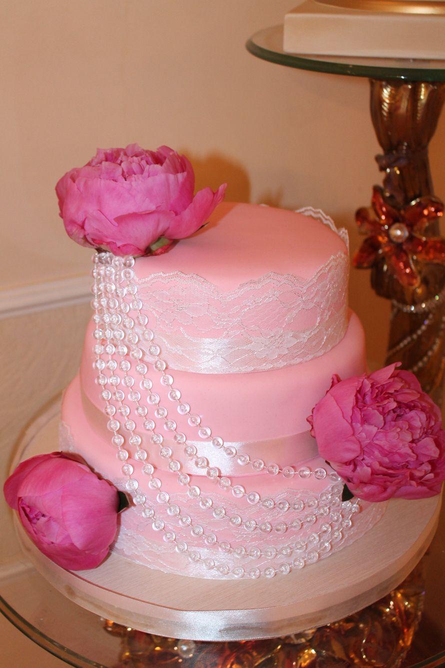 торт - фото 2503181 Иннэсса - свадебные торты из мастики
