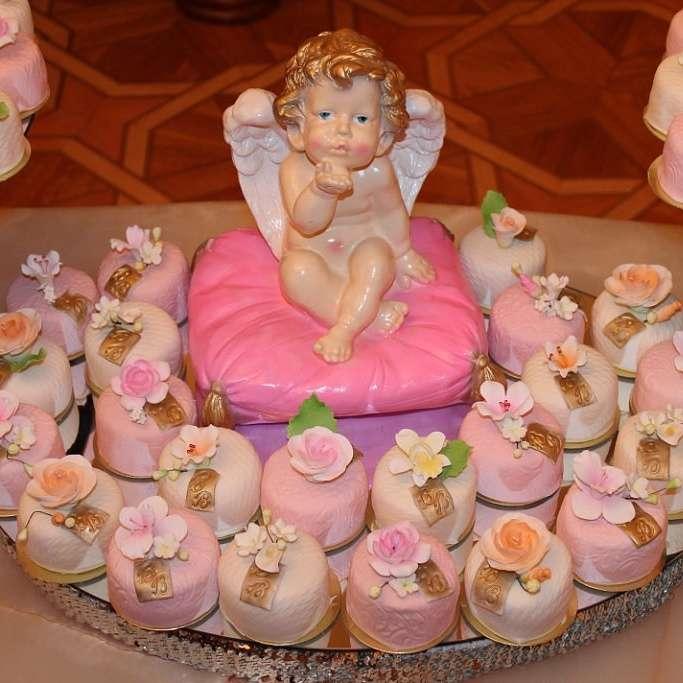 Фото 2798177 в коллекции торты - Иннэсса - свадебные торты из мастики