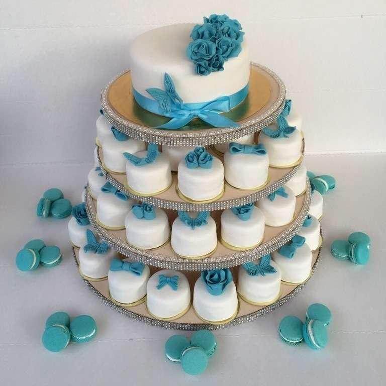 Фото 12260902 в коллекции торты - Иннэсса - свадебные торты из мастики