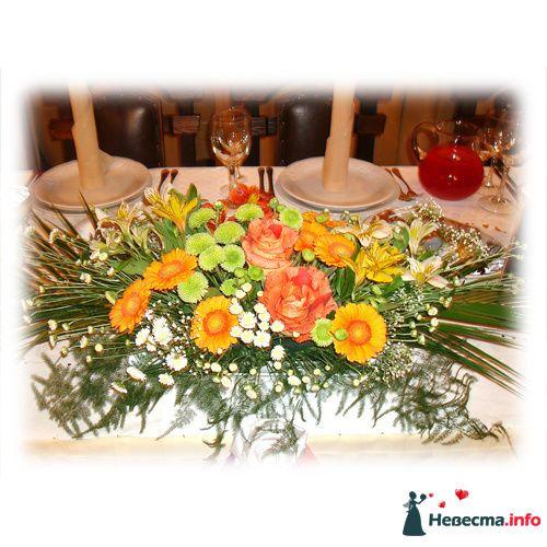 оформление стола1 - фото 119159 Невеста01