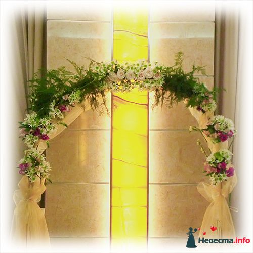 Арка из цветов - фото 119164 Невеста01
