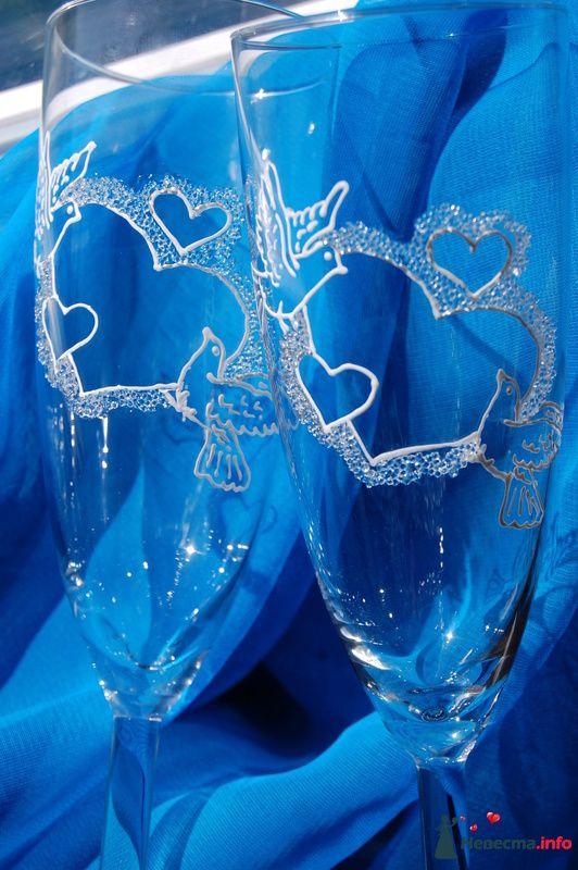 Фото 131080 в коллекции Свадебные бокалы с лепкой!!!! - Кетлин - свадебные бокалы