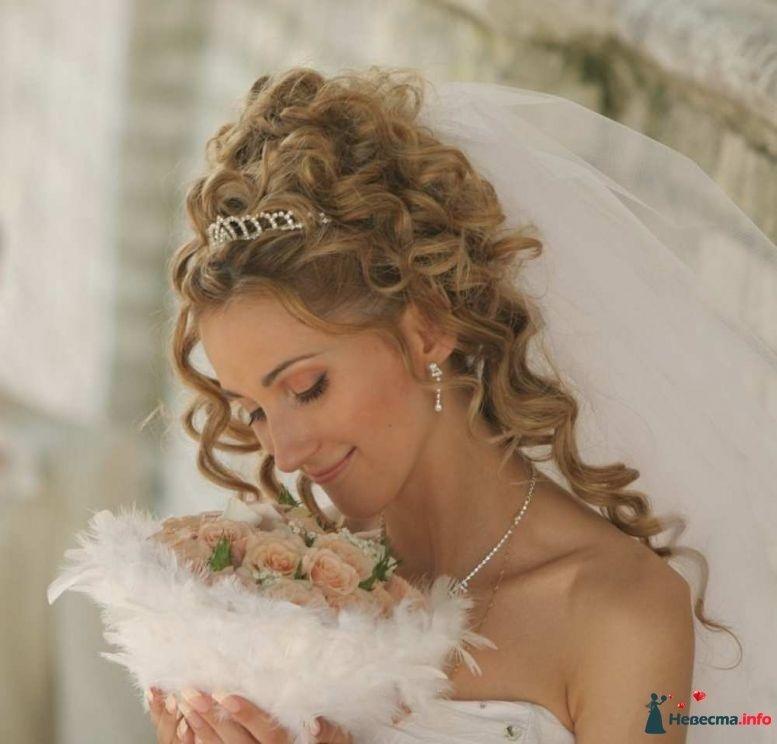 Фото 123589 в коллекции Свадебные причёски - Ellina