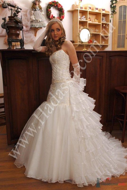 Елизавета, необыкновенно нежное платье