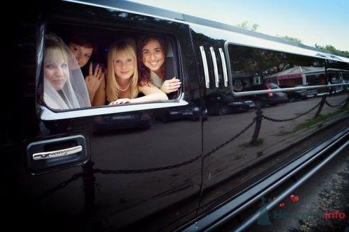 """Лимузин HUMMER - фото 11425 Свадебная компания """"Гвендалин"""""""