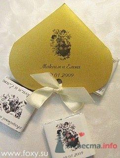 Бонбоньерки-сердечки - фото 12299 Foxysu - приглашения на свадьбу