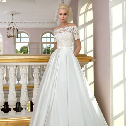 Свадебное платье - модель 1225