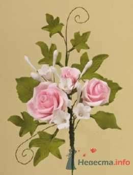 """Цветы из пастилы для украшения тортов - фото 10572 """"Бар-О-Белл"""" - кондитерские изделия"""