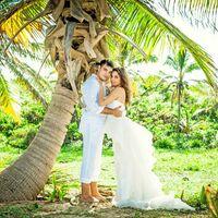 свадебная фотсессия на пляже Макао, Доминикана