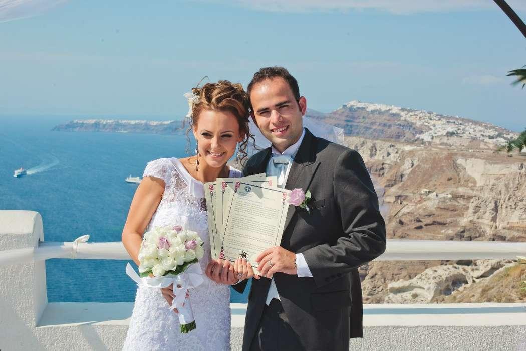 Фото 1159767 в коллекции Кристина и Хайме!!! - Exclusivaweddings - организация свадьбы на Санторини