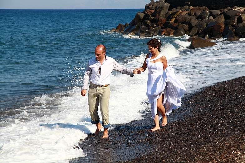 Фото 1339065 в коллекции Андрей и Наталья!!! Фотограф - Эдуард Груздев - Exclusivaweddings - организация свадьбы на Санторини