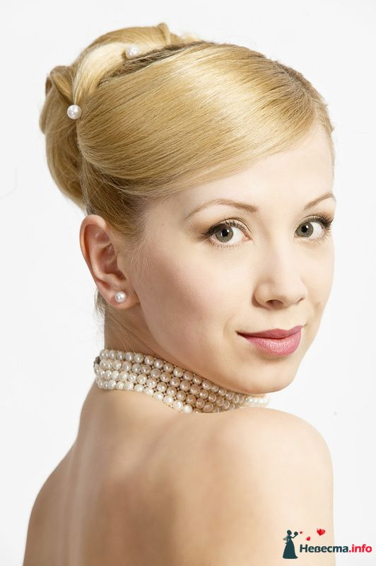 Фото 123759 в коллекции Невесты. Прическа и макияж.