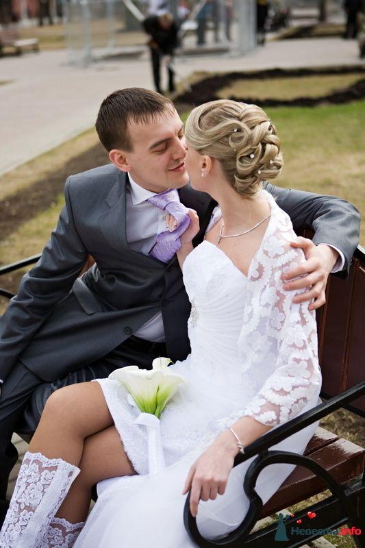 Фото 123766 в коллекции Невесты. Прическа и макияж. - Свадебный стилист - Кулагина Марина