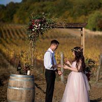 Крым. Свадьба на виноградниках