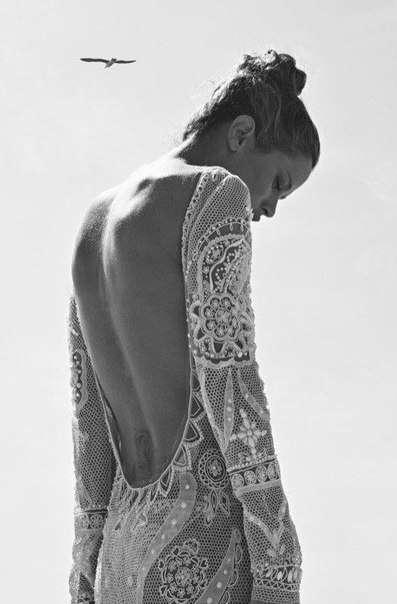 """Фото 1203047 в коллекции Спинки - Свадебное ателье """"Оттенки белого"""""""