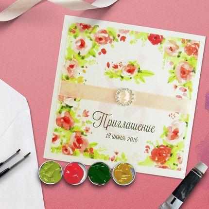 Свадебное приглашение Арт. 0050