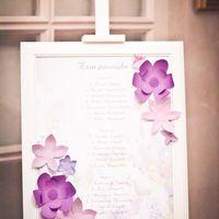 Сиреневая свадьба. План рассадки