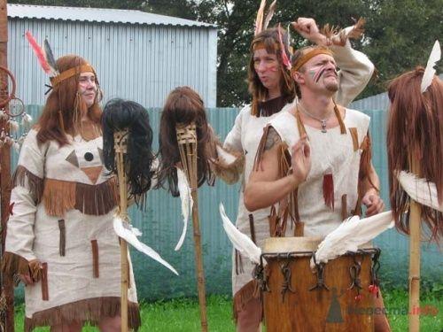 Индейская свадьба на Диком Западе - фото 11101 198220
