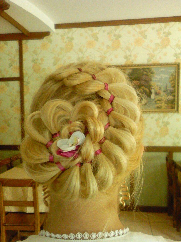 Фото 1224931 в коллекции  - Свадебные прически, вечерние - Татьяна Иванова