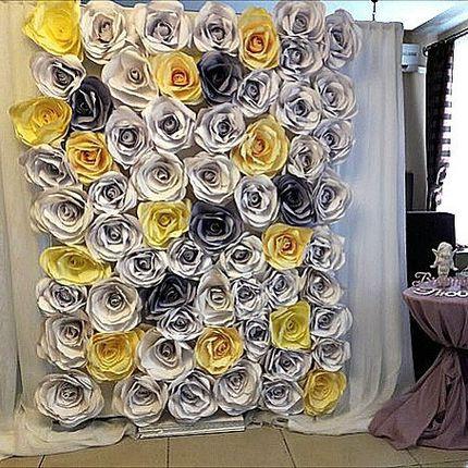 Оформление фотозоны на свадьбу, торжество