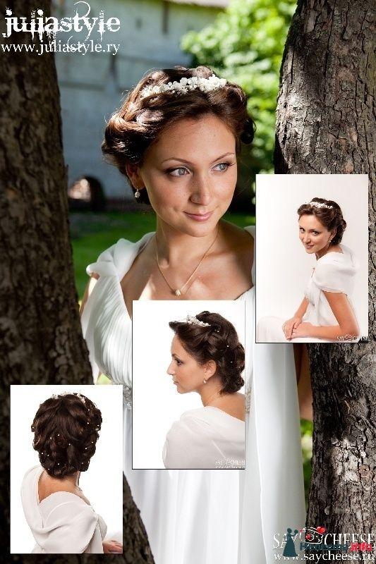 Фото 131848 в коллекции Фотографии свадебных причесок - Свадебный стилист Юлия Зайченко